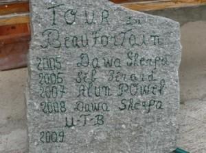 Palmarès du Tour du Beaufortain en 2 étapes.